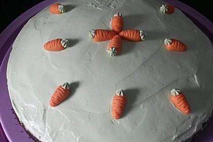 Karottenkuchen, Rüblikuchen oder Möhrenkuchen 280