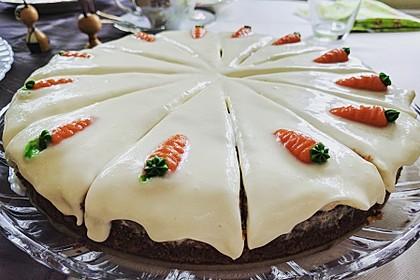 Karottenkuchen, Rüblikuchen oder Möhrenkuchen 282