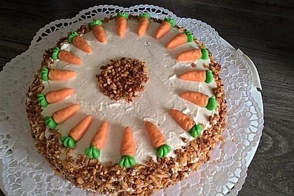 Karottenkuchen, Rüblikuchen oder Möhrenkuchen 216