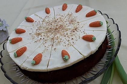 Karottenkuchen, Rüblikuchen oder Möhrenkuchen 175