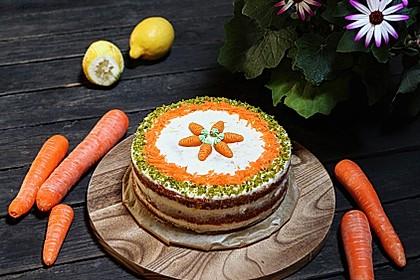 Karottenkuchen, Rüblikuchen oder Möhrenkuchen 77