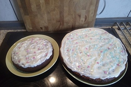 Karottenkuchen, Rüblikuchen oder Möhrenkuchen 267