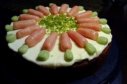 Karottenkuchen, Rüblikuchen oder Möhrenkuchen 240