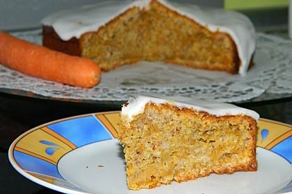 Karottenkuchen, Rüblikuchen oder Möhrenkuchen 68