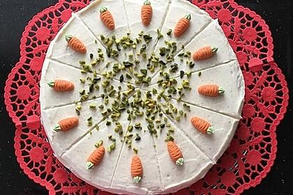 Karottenkuchen, Rüblikuchen oder Möhrenkuchen 246