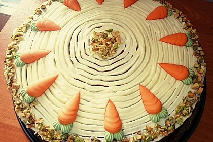 Karottenkuchen, Rüblikuchen oder Möhrenkuchen 37