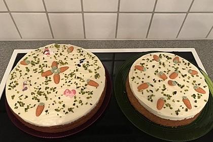 Karottenkuchen, Rüblikuchen oder Möhrenkuchen 140