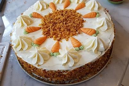 Karottenkuchen, Rüblikuchen oder Möhrenkuchen 38