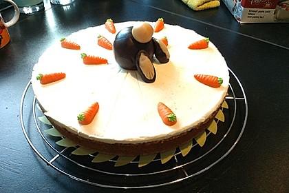 Karottenkuchen, Rüblikuchen oder Möhrenkuchen 7