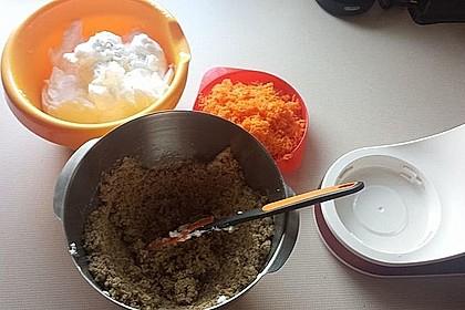 Karottenkuchen, Rüblikuchen oder Möhrenkuchen 378