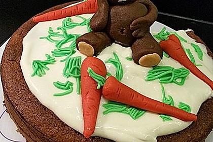 Karottenkuchen, Rüblikuchen oder Möhrenkuchen 13