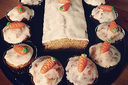 Karottenkuchen, Rüblikuchen oder Möhrenkuchen 119