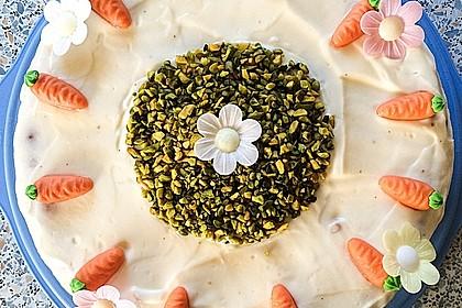 Karottenkuchen, Rüblikuchen oder Möhrenkuchen 20