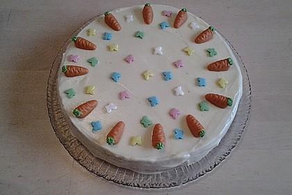 Karottenkuchen, Rüblikuchen oder Möhrenkuchen 231