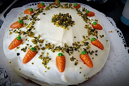 Karottenkuchen, Rüblikuchen oder Möhrenkuchen 362