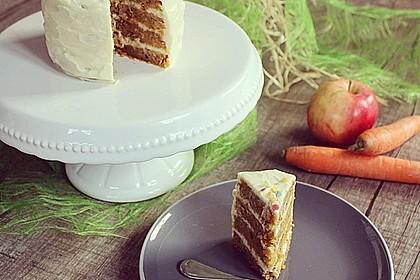 Karottenkuchen, Rüblikuchen oder Möhrenkuchen 23