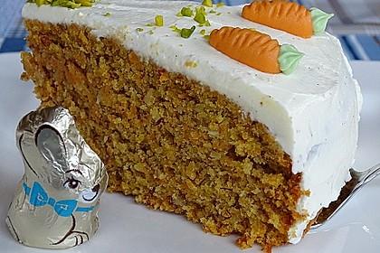 Karottenkuchen, Rüblikuchen oder Möhrenkuchen 5