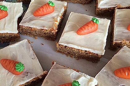 Karottenkuchen, Rüblikuchen oder Möhrenkuchen 196