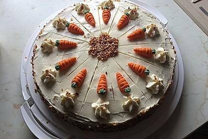 Karottenkuchen, Rüblikuchen oder Möhrenkuchen 22