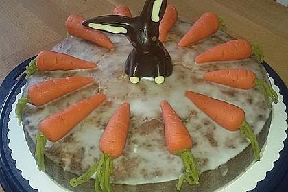 Karottenkuchen, Rüblikuchen oder Möhrenkuchen 360