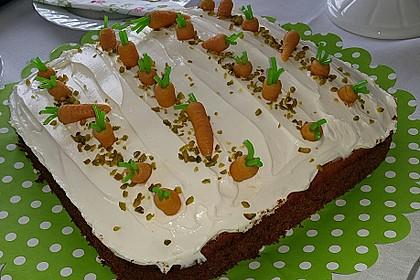 Karottenkuchen, Rüblikuchen oder Möhrenkuchen 361