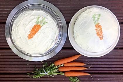 Karottenkuchen, Rüblikuchen oder Möhrenkuchen 195