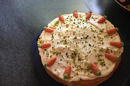 Karottenkuchen, Rüblikuchen oder Möhrenkuchen 24