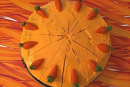 Karottenkuchen, Rüblikuchen oder Möhrenkuchen 121