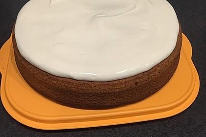 Karottenkuchen, Rüblikuchen oder Möhrenkuchen 357
