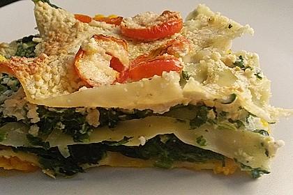 Vegane Spinat-Cashew-Lasagne 7