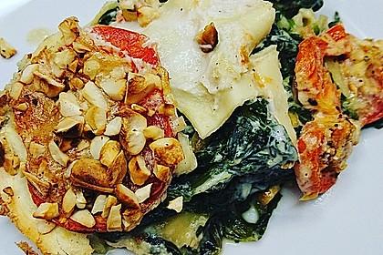 Vegane Spinat-Cashew-Lasagne 4
