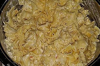 Spaghetti in Schmandsoße
