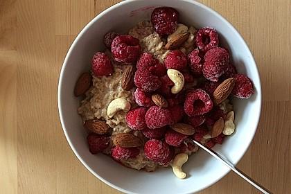 Apfel-Zimt-Nuss Porridge (Bild)