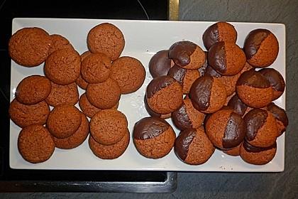 Zimtige Haselnuss-Kakao-Kekse