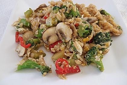 Asia Bratreis - vegetarisches Basisrezept