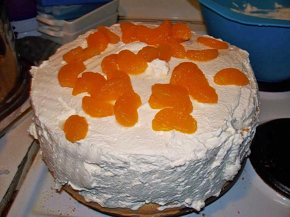 Schnelle Mandarinen Sahne Torte Chefkoch De
