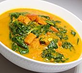 Kürbis-Spinat-Curry (Bild)