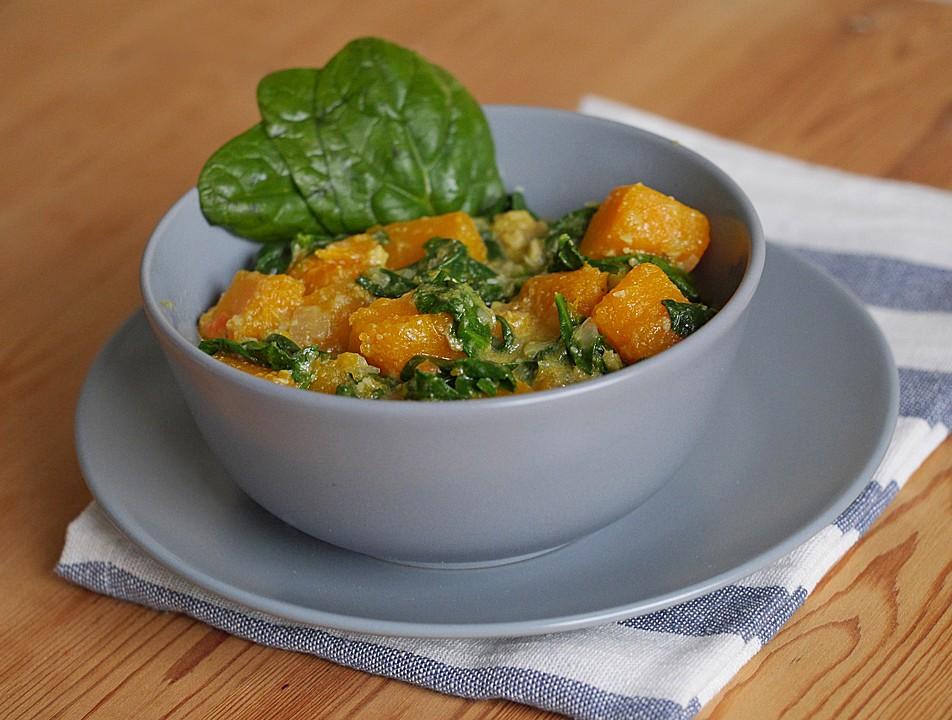 Kürbis-Spinat-Curry von ars_vivendi | Chefkoch