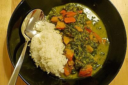 Kürbis-Spinat-Curry 11