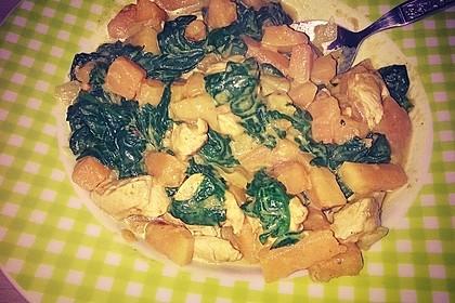 Kürbis-Spinat-Curry 15