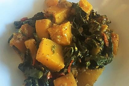 Kürbis-Spinat-Curry 6