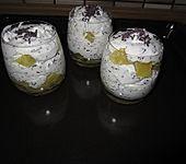 Eierlikör-Frucht-Dessert (Bild)