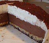 Schokoladen-Frischkäsetorte (Bild)