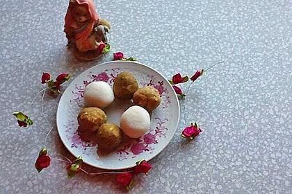 Besan Ke Laddu - süße Kichererbsenbällchen, ein weiteres Rezept!