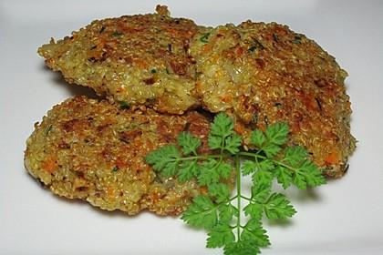 Quinoa-Bratlinge 1