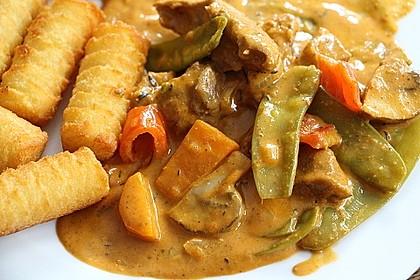 Massaman-Curry mit Rindfleisch