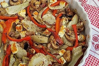 Ofengemüse mit Fenchel und Champignons 4