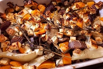 Ofengemüse mit Fenchel und Champignons 8