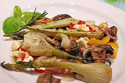 Ofengemüse mit Fenchel und Champignons 3
