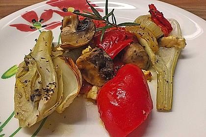 Ofengemüse mit Fenchel und Champignons 5